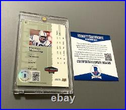 1998 Peyton Manning Playoff Contenders Rookie Ticket Auto Bgs Sp Autograph
