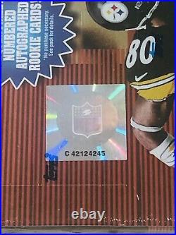 (1) 2000 Bowman Chrome Football Sealed Hobby Box 24 Packs Tom Brady Refractor