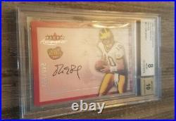 2000 Tom Brady Fleer Auto Silver Insert /250 Rc Bgs 8 W 10 Auto #17 Psa Cross