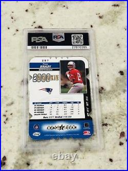 2000 Tom Brady Leaf Certified Rookie Rc #207 Psa 7 Ssp 248/1500 Die-cut 4 Star