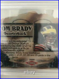 2000 Tom Brady ROOKIE AUTO! Crown Royale 110! PSA 10 POP 23! IMPOSSIBLY RARE