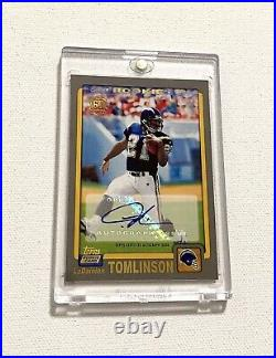 2001 Topps Ladainian Tomlinson Rookie Autograph Retro SP Signed Chargers Auto