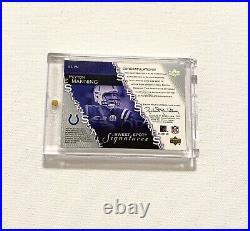 2003 Upper Deck Peyton Manning Sweet Spot Helmet Auto SP Certified Autograph