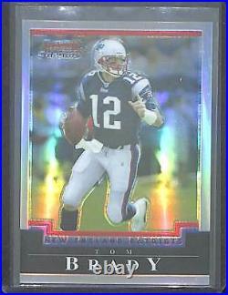 2004 Bowman Chrome Refractor #106 Tom Brady No 181 of 500