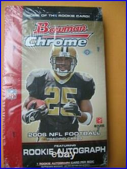 2006 Bowman Chrome Hobby Box Look For Auto Xfractor Refractor 1/1 Aaron Rodgers