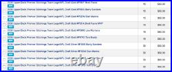 2008 Upper Deck Draft FB HOBBY Box 5 AUTO Look4 Matt Ryan Forte Tom Brady Gold