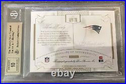 2015 Panini Flawless Autograph Tom Brady Emerald /5 BGS 9.5 Auto 10 Pop 1