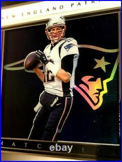 2019 Panini Matchless Tom Brady On Card Auto 2/10 One touch encased-GOAT-RARE