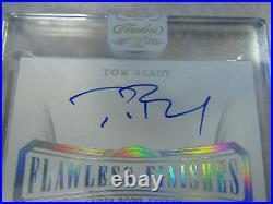 2020 Flawless Tom Brady ON CARD Auto with'SB XXXVIII MVP' Inscription #1/5