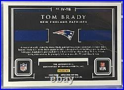 2020 Impeccable Football Impeccable Victories Auto 1st Print 1/5 Tom Brady