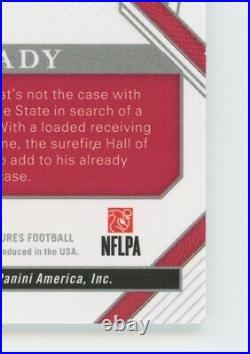 2020 National Treasures Personalized Autograph Tom Brady Inscriptions Auto #5/5