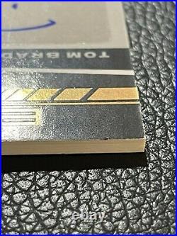 2021 Panini Black Tom Brady & Rob Gronkowski Dual Autograph Super Bowl LIV 2/2
