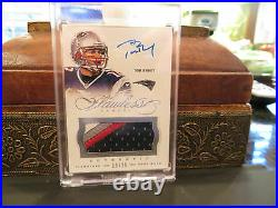 Panini Flawless On Card Autograph Jersey Patriots Auto Tom Brady 19/25 2014