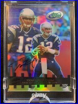 Rare 2003 Etopps Tom Brady (1/50) Auto Pristine Autograph (665 Total Print Run)