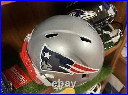 TOM BRADY Signed Riddell Speed Replica Full Size Helmet Tristar Authentic