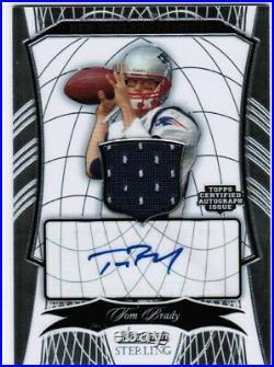 Tom Brady 2009 Bowman Sterling Jersey Autograph SP 30/30 Auto PATRIOTS! SB MVP