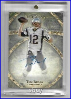 Tom Brady 2014 Topps Five Star On Card Autograph Patriots Buccaneers Auto Sp