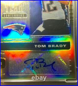 Tom Brady 2019 Optic Contenders Player of The Year Auto 6/10 PSA 9/10 Bucs #1 QB