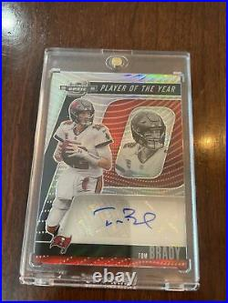 Tom Brady 2020 Optic Contenders Player of The Year Auto /10. Tampa Bucs