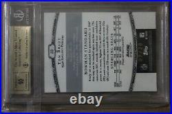 Tom Brady AUTO Patch Bowman Gold not Rookie RC chrome 2000 /20 BGS 9.5