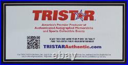 Tom Brady Autographed & Framed Navy Patriots Jersey Auto Tristar COA D22-L