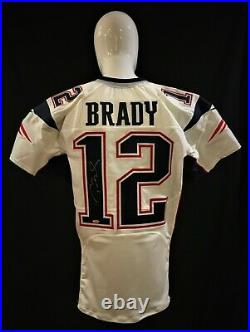 Tom Brady New England PATRIOTS GAME ISSUED Super Bowl 51 Autographed Jersey