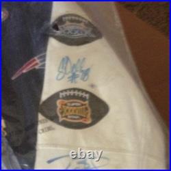 Tom Brady Patriots Autograph Jacket, There Is 6 Auto's Brady Is 1, Very Sweet