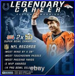 Tom Brady, Peyton Manning, Drew Brees, Favre Joe Montana, Marino Split 6 True 1/1