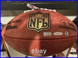 Tom Brady Signed Duke NFL Football Buccaneers Patriots Tristar Certified Coa