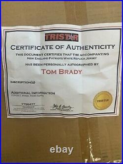 Tom Brady Signed Patriots Jersey With TriStar COA