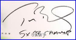 Tom Brady Signed The Show Inscribed 5x SB Champ