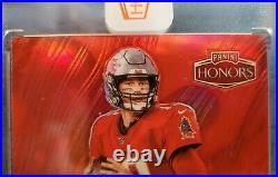 Tom Brady TRUE ONE OF ONE 2020 Honors Signatures Auto Buccaneers #1/1! GOAT