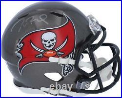 Tom Brady Tampa Bay Buccaneers Autographed Riddell Speed Mini Helmet