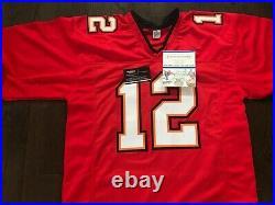 Tom Brady Tampa Bay Buccaneers Autographed SUPER NICE Custom Jersey With COA